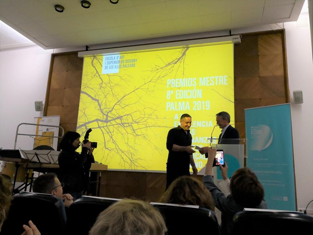 Salvador Cidrás - Premio Mestre 2019