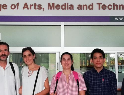 Compartimos conocimiento en Tailandia a través de Erasmus+
