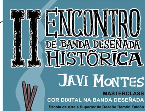 Masterclass 'Cor dixital na Banda Deseñada', con Javi Montes