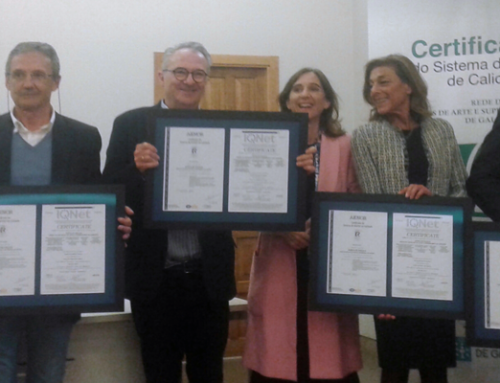 Rede de Escolas de Arte e Superiores de Deseño de Galicia: calidade acreditada