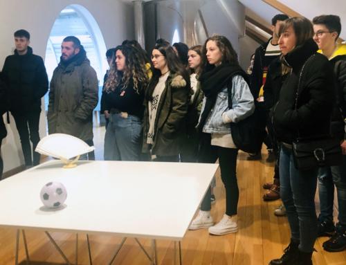 Visitamos a exposición 'Converxencias Arte e Ciencia'