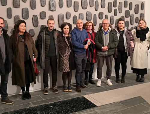 Visitamos la exposición 'A métrica do ilusionismo', de Daniel Río 'Caxigueiro'