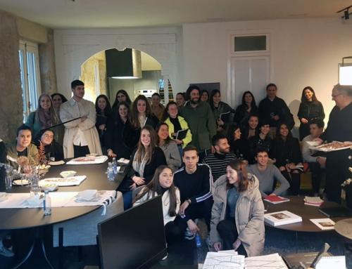 Compartimos tiempo y experiencias con los compañeros de la EASD Pablo Picasso
