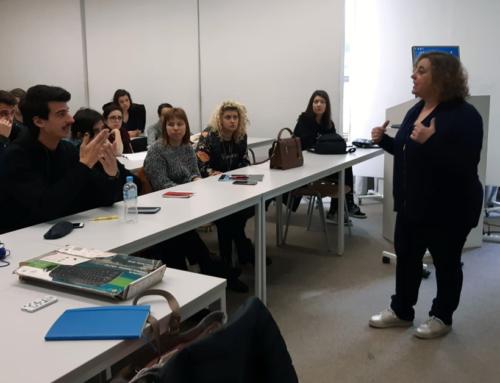 Así foi a experiencia da profesora María Vázquez en Saraxevo
