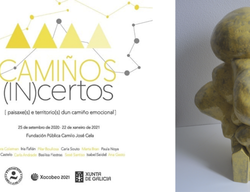 Sesé Santiso, estudante do CFGS de Cerámica Artística, participa na exposición 'Camiños (IN)certos'