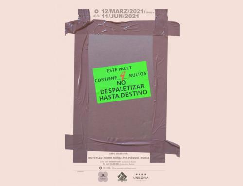 Inauguración da mostra 'No despaletizar hasta destino', coa participación da alumna Natalia Pía