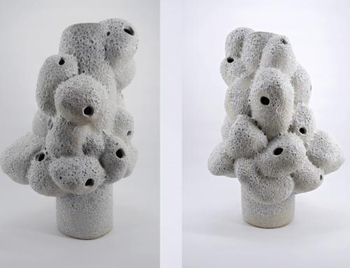 'Ruido de fondo', obra de la alumna Sesé Santiso, seleccionada en la Bienal Internacional de Cerámica Ciudad de Talavera