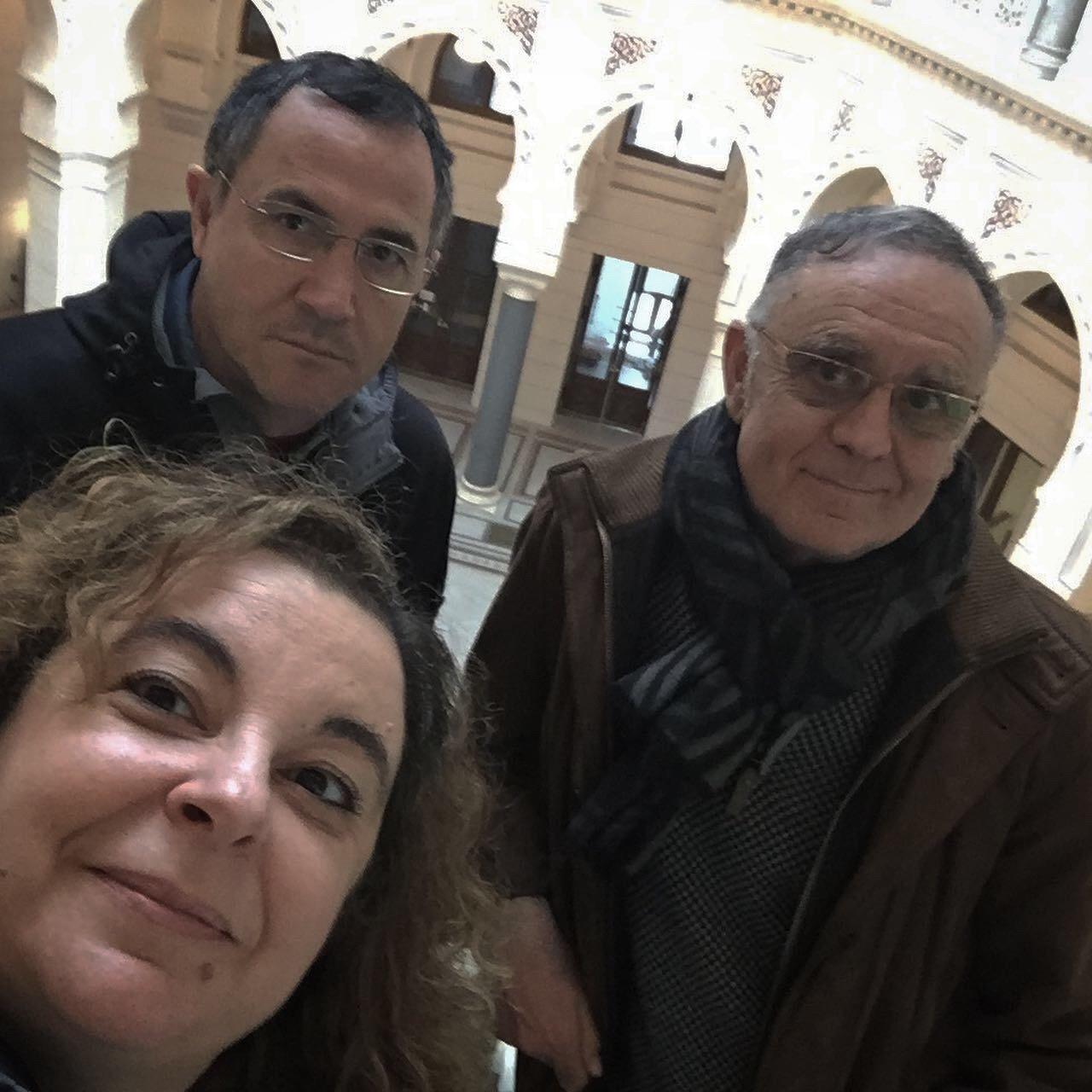 Selfie na Biblioteca de Saraxevo